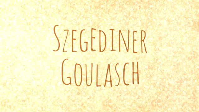 Szegediner Goulasch