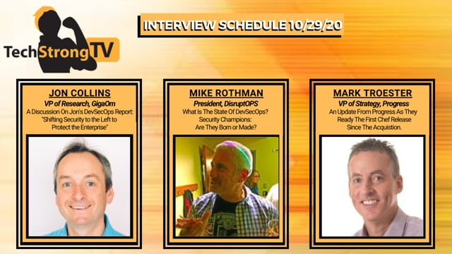 TechStrong TV - October 29, 2020