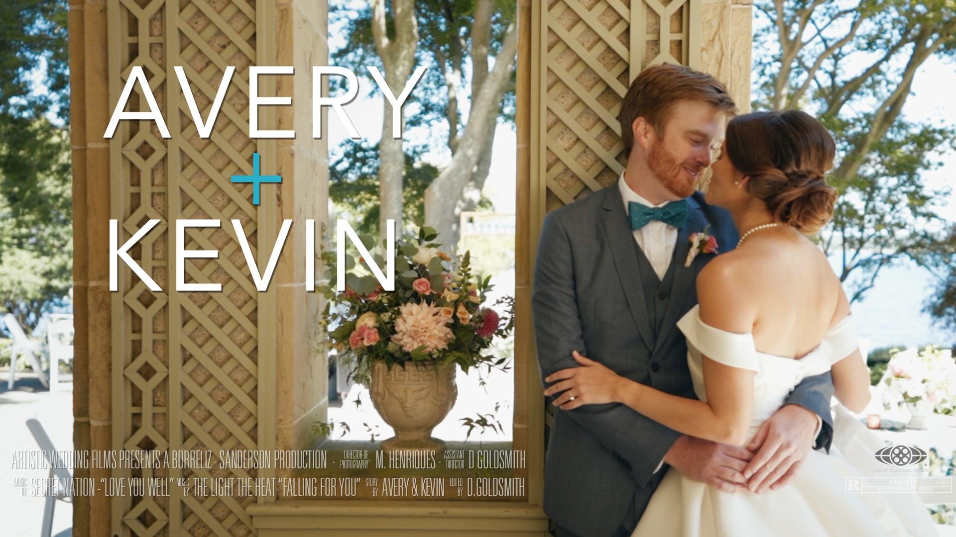 Glen Manor Wedding Film //Avery & Kevin's Highlight Film //  Newport Seaside Wedding