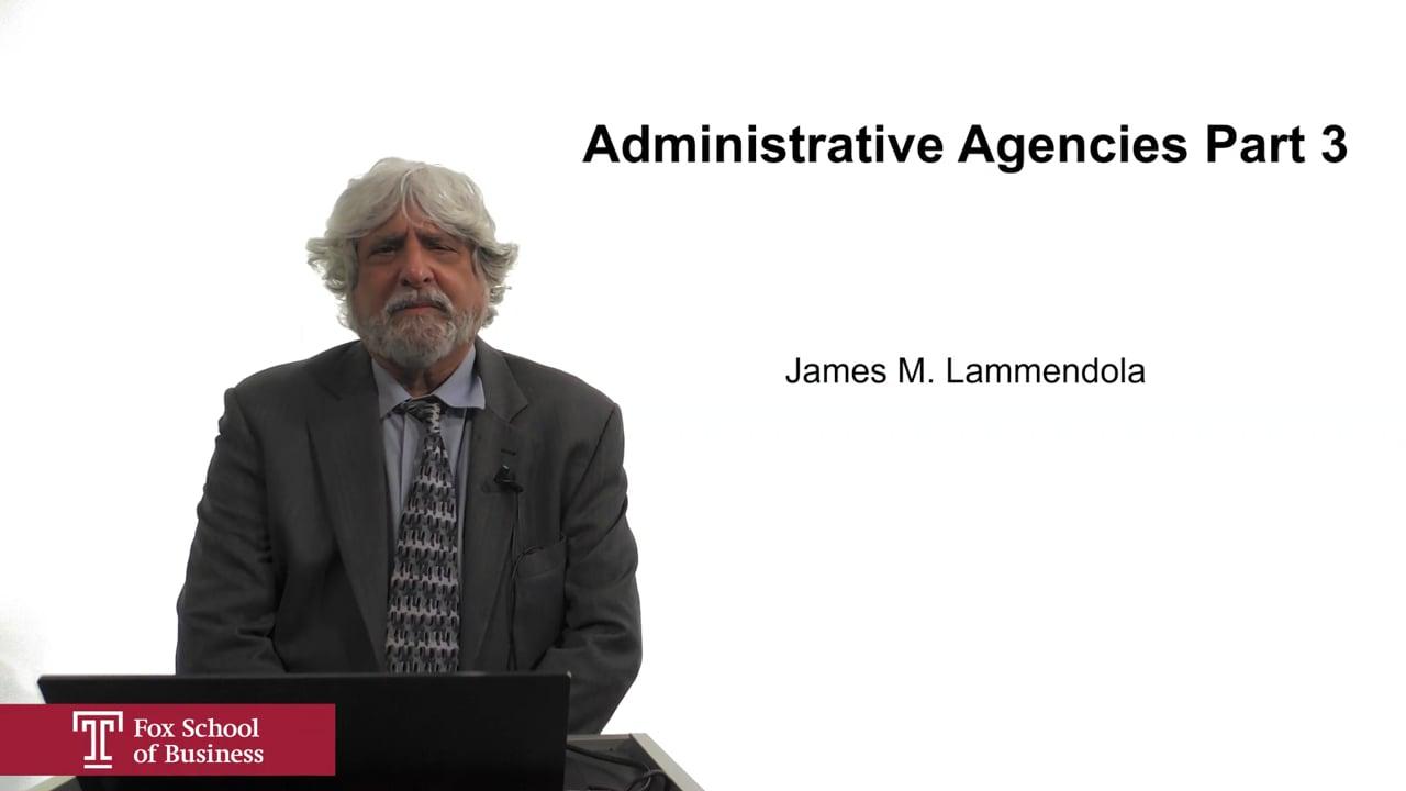 61933Administrative Agencies Part 3