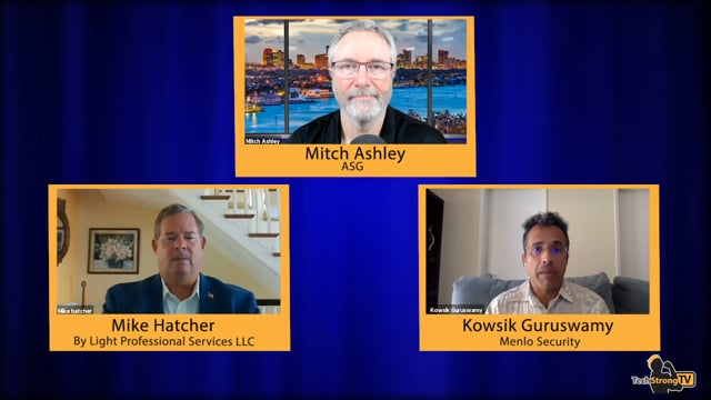 Mike Hatcher & Kowsik Guruswami - TechStrong TV