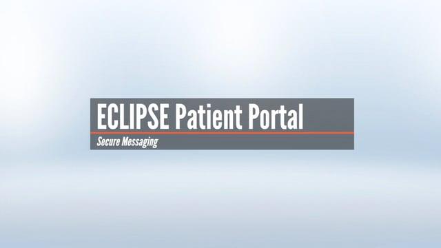 Patient Portal – Secure Messaging
