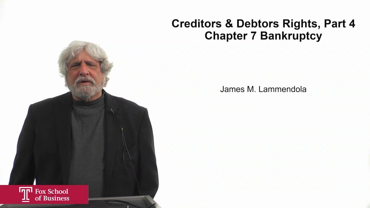 61934Creditors & Debtors Rights Part 4