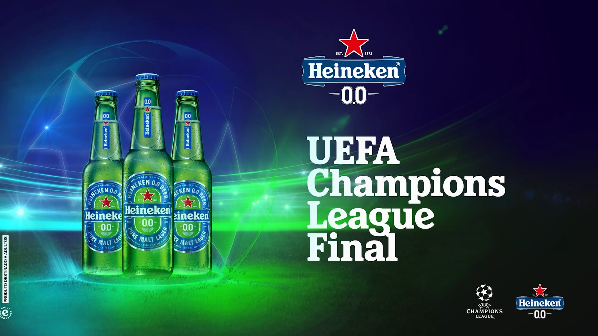 Heineken 0.0 - Final UCL 2020 - Allianz Parque
