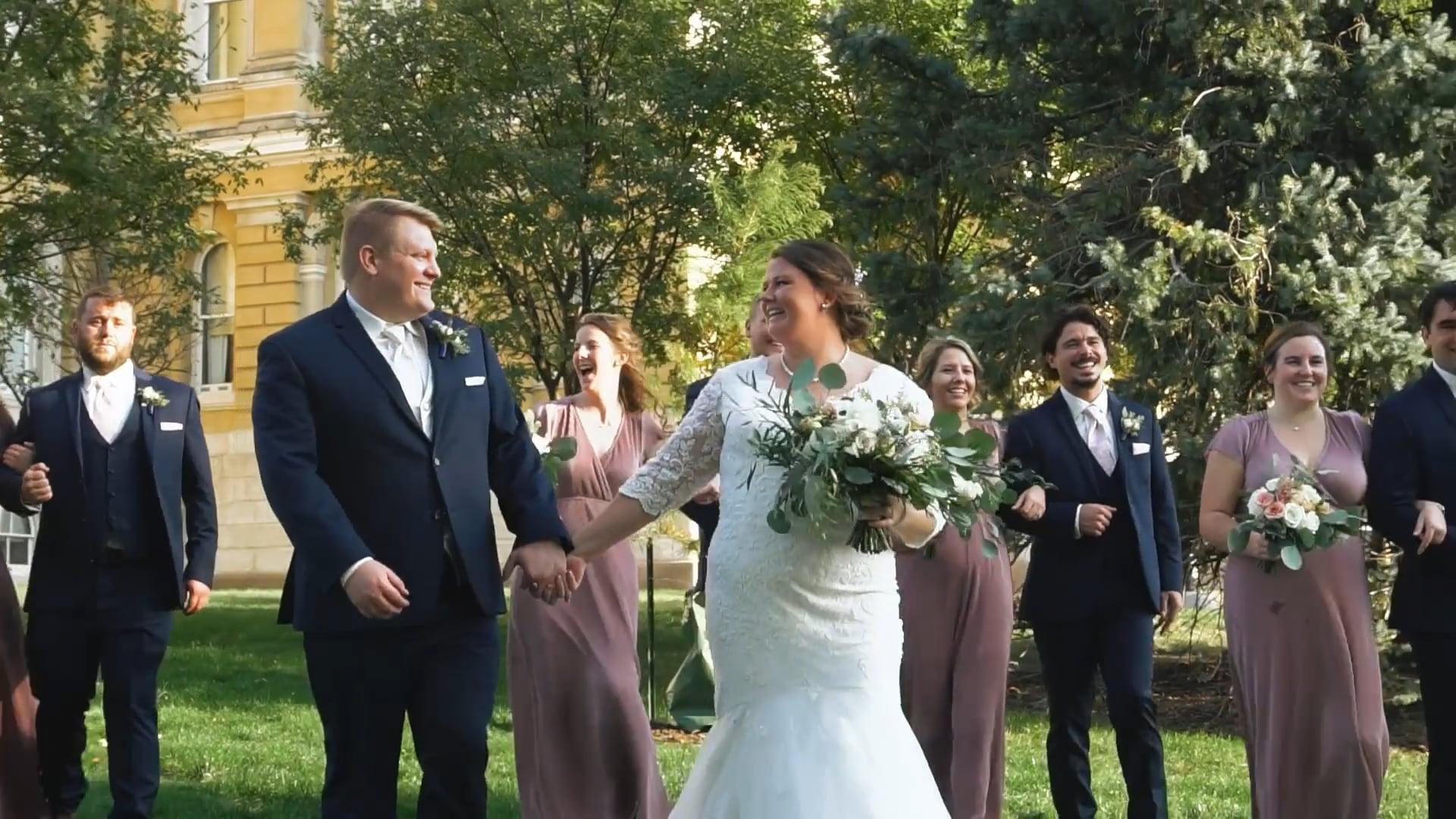 The Severns   Des Moines Wedding Film