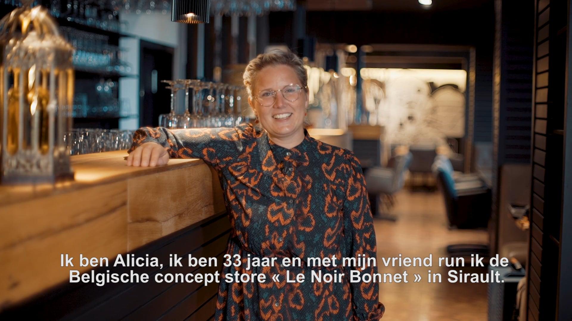 Alicia Rossi et Ismael Baddouh -  Le Noir Bonnet