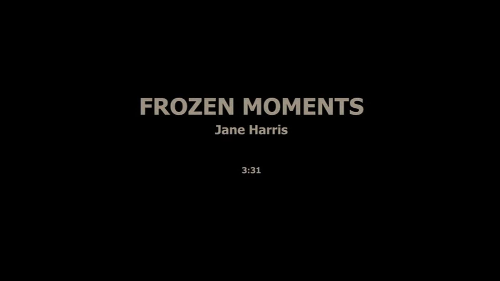 FROZEN MOMENTS - JANE HARRIS