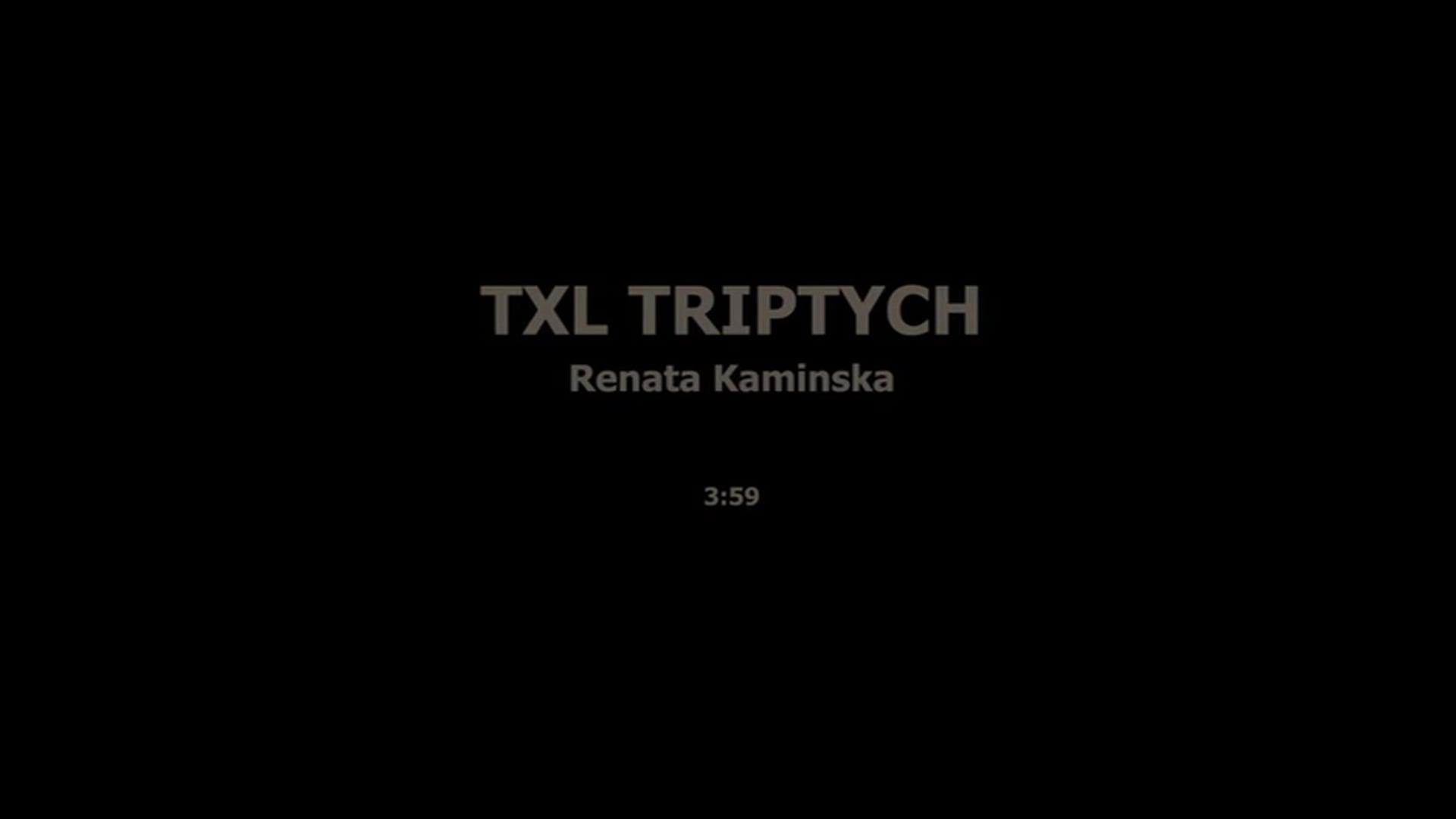 TXL TRIPTYCH - RENATA KAMINSKA