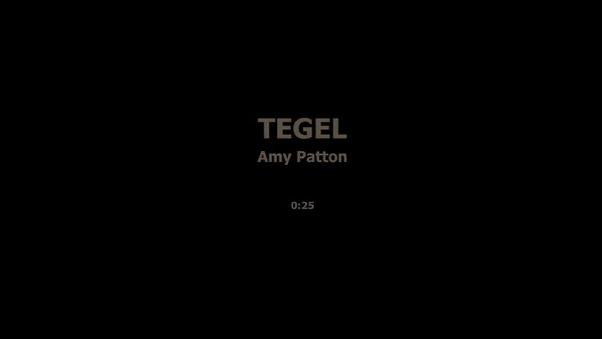 TEGEL - AMY PATTON