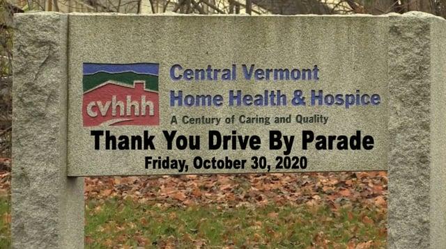 CVHHH Thank You Drive By Parade