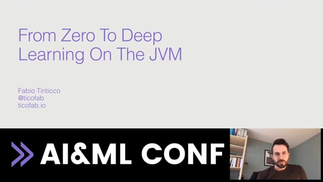 From Zero to Deep Learning On The JVM