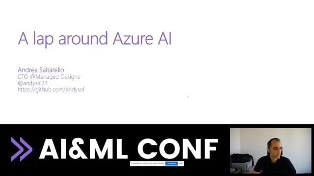 A lap around Azure AI