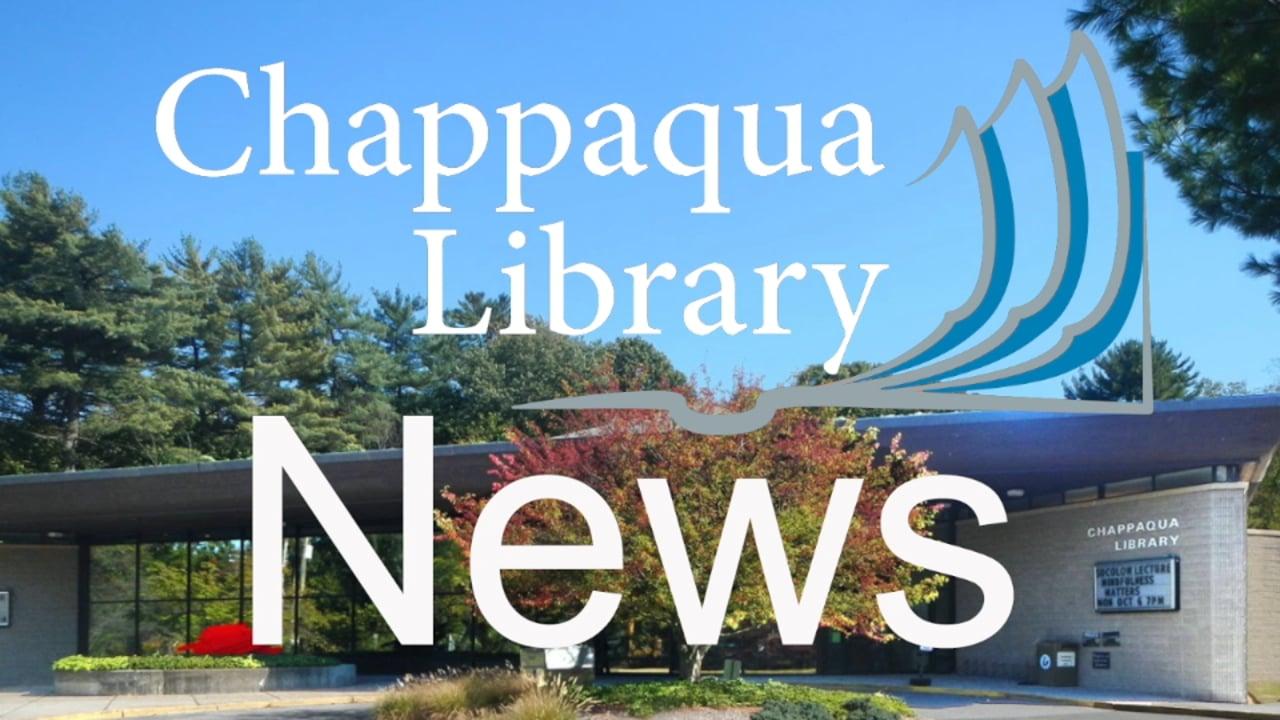 Chappaqua Library News - November 2020