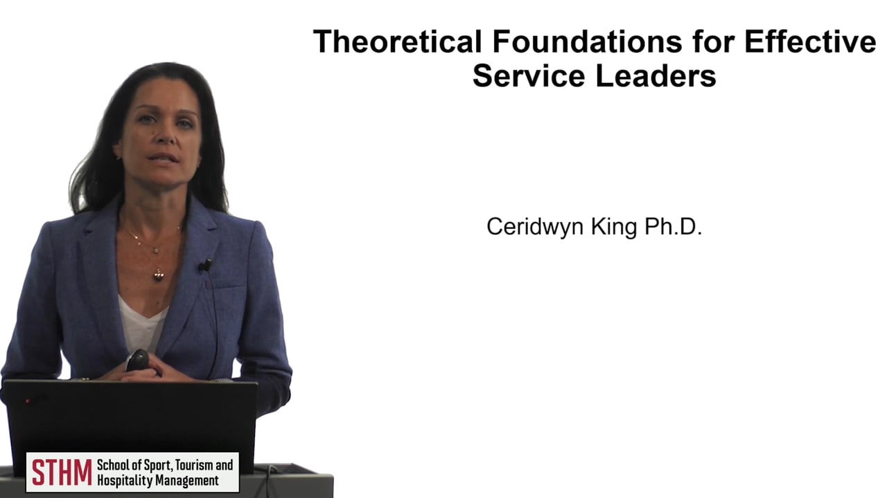 61936Theoretical Foundations for Effective Service Leaders