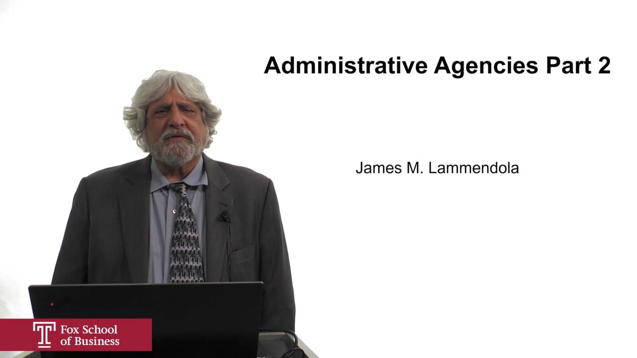 61935Administrative Agencies Part 2
