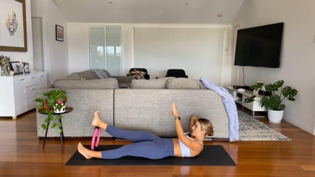 40min pilates circle workout