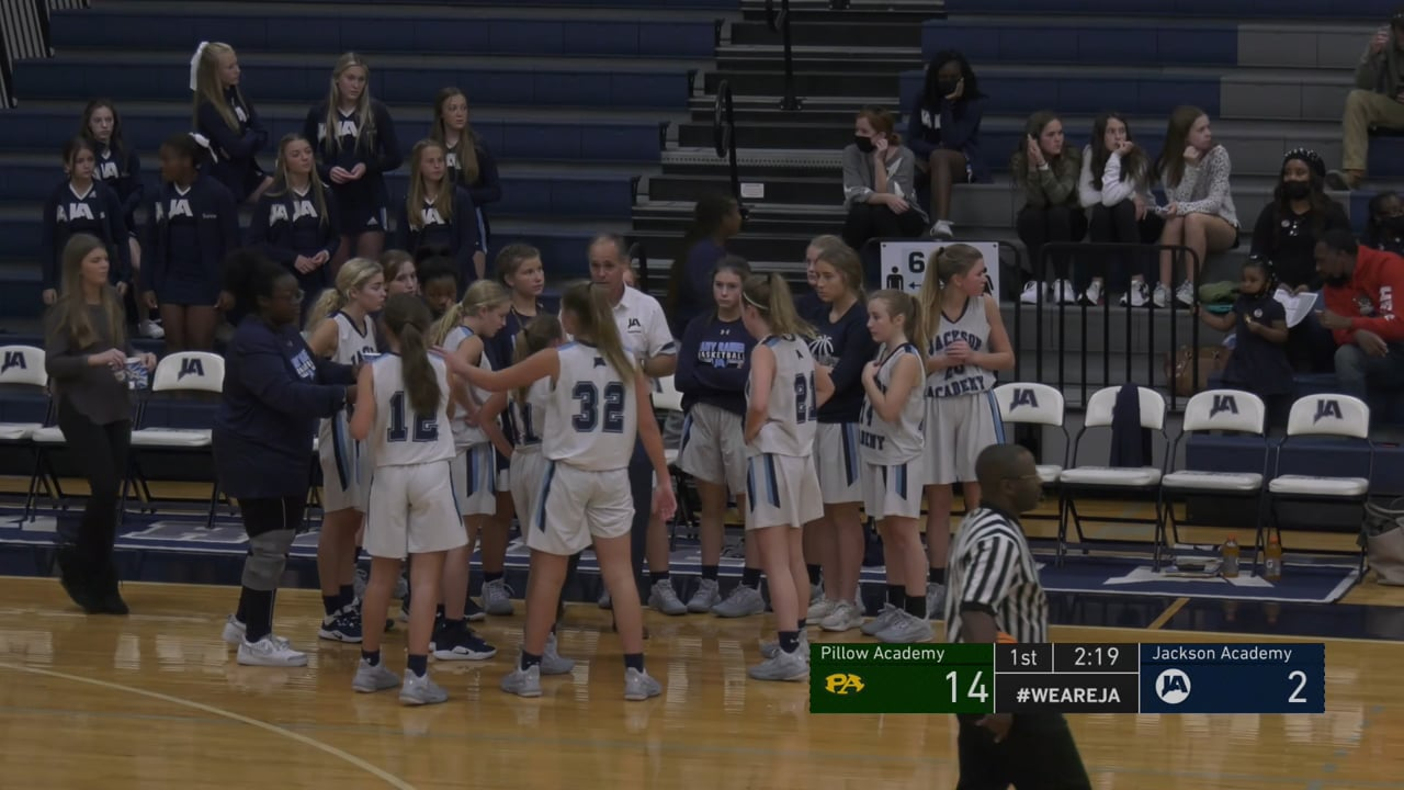 JV Girls Basketball vs Pillow Academy - 11-03-20