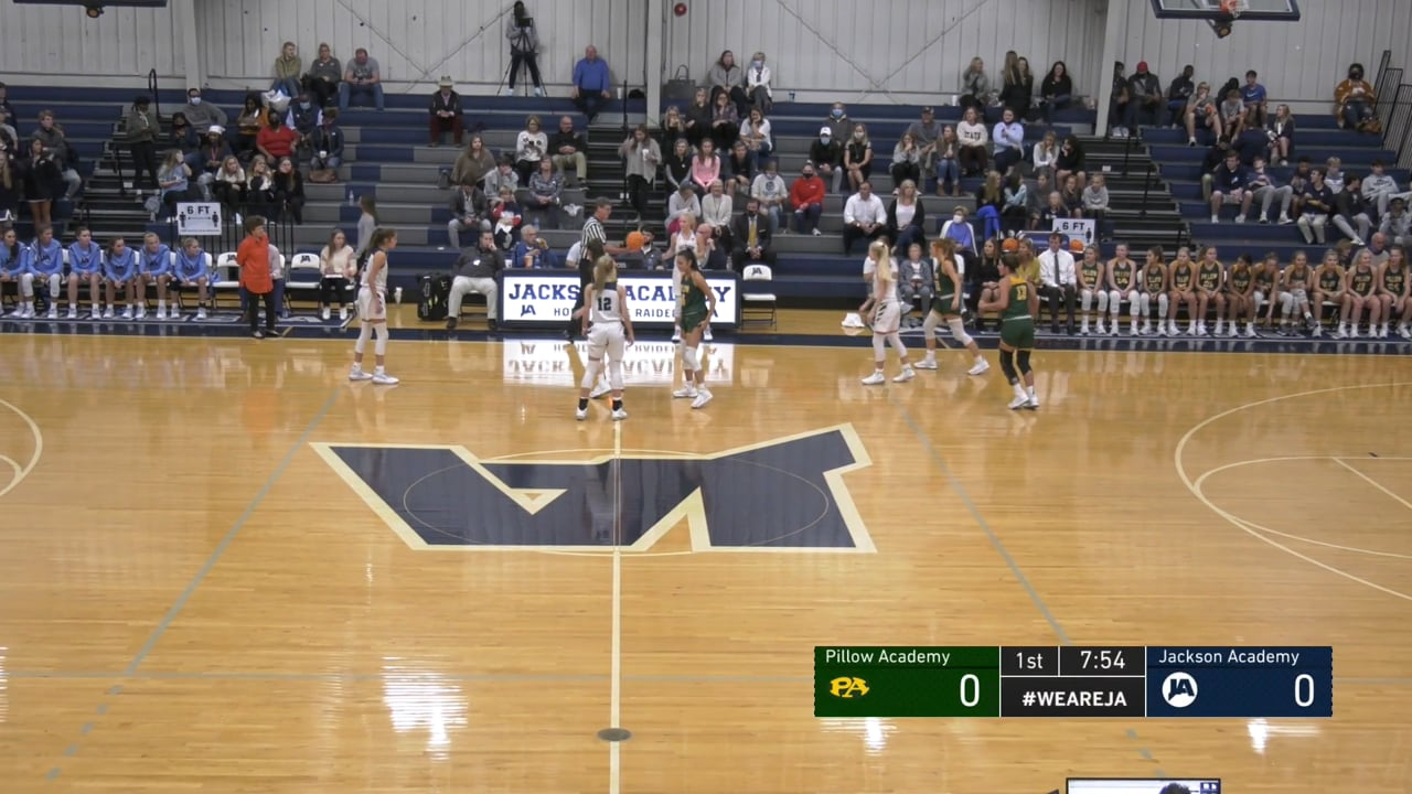 Varsity Girls Basketball vs Pillow Academy - 11-04-20