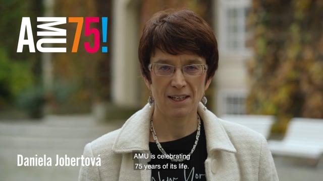 Daniela Jobertová je prorektorkou AMU pro studijní záležitosti a zajišťování kvality a od roku 2001 také vedoucí Katedry teorie a kritiky na DAMU. Pod jejím prorektorským vedením AMU v minulém roce získala tzv. institucionální akreditaci.