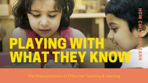 Watch Playing & Exploring - Playing with what they know