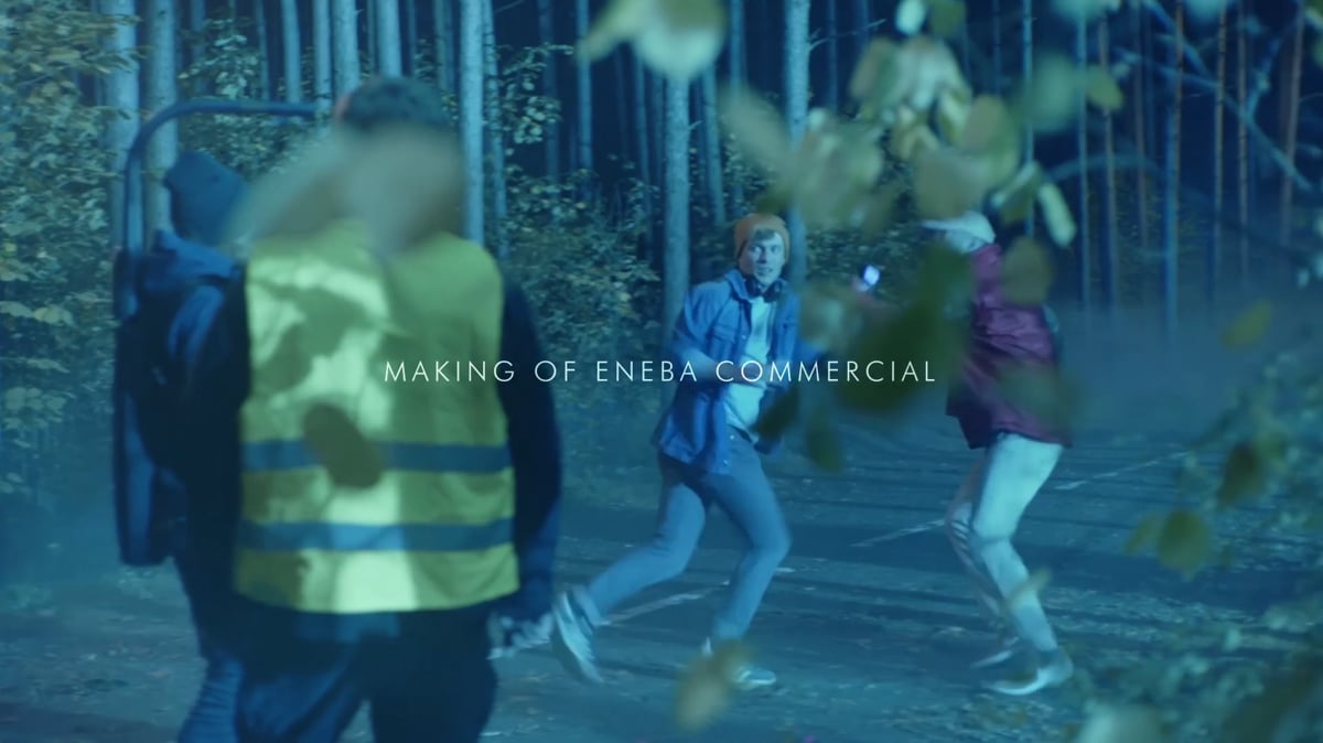 Making of Eneba commercial | Pick a Story