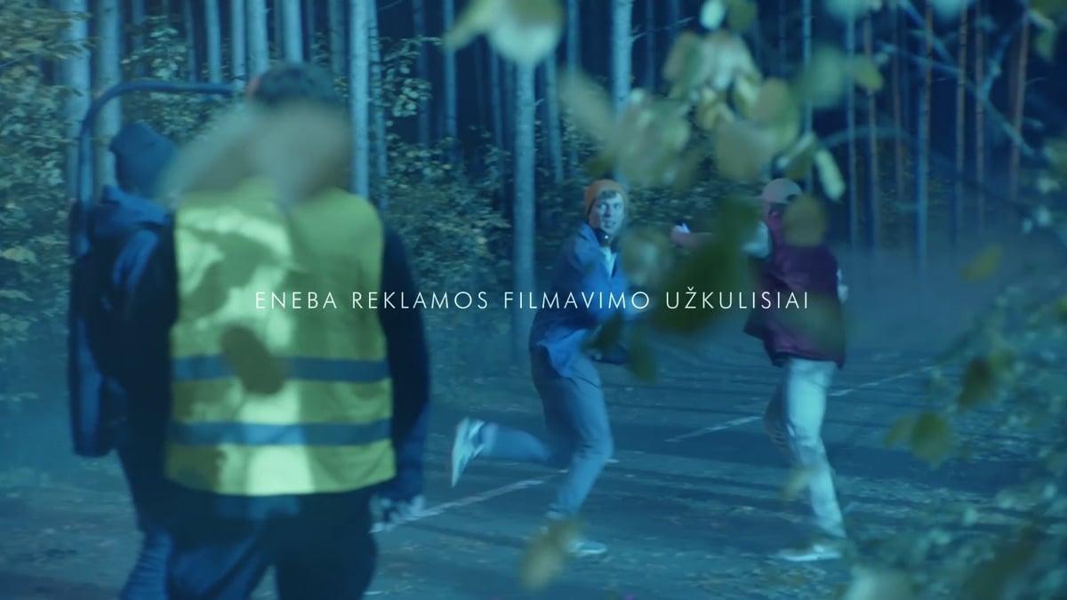 Eneba reklamos filmavimo užkulisiai | Pick a Story