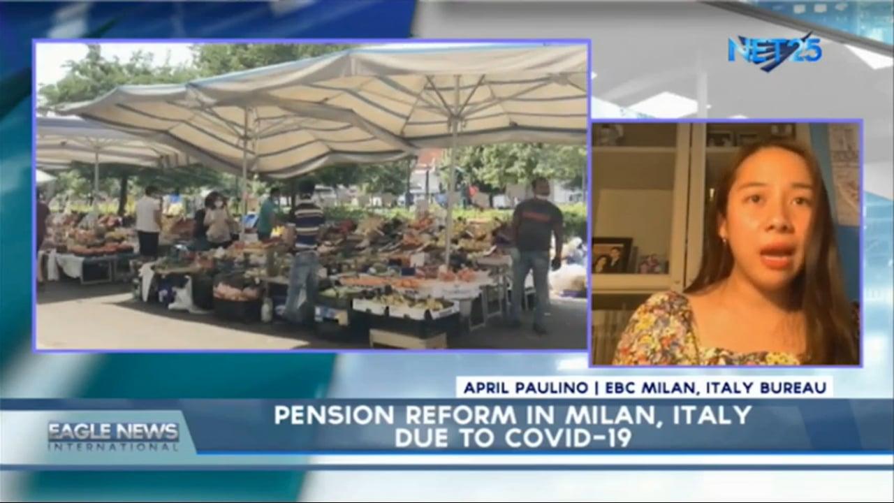 COVID-19 pension reform in Milan Italy