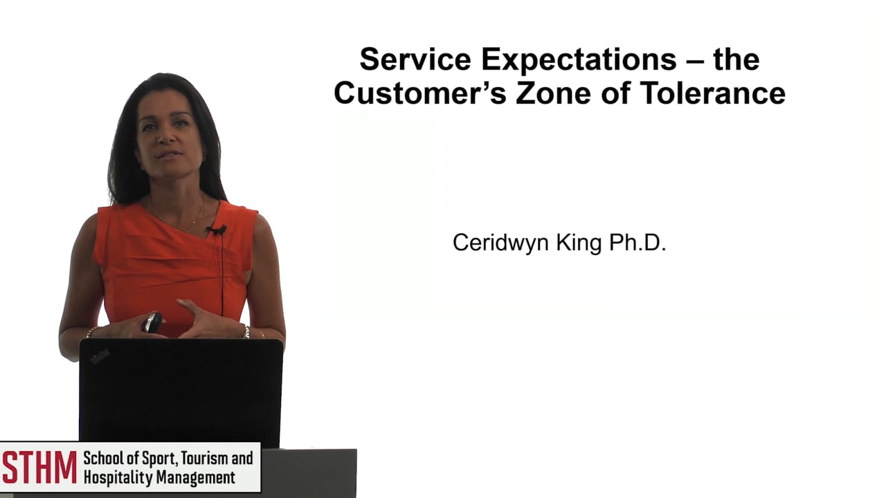 61853Service Expectations – the Customer's Zone of Tolerance