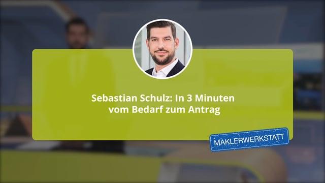 Sebastian Schulz: In 3 Minuten vom Bedarf zum Antrag