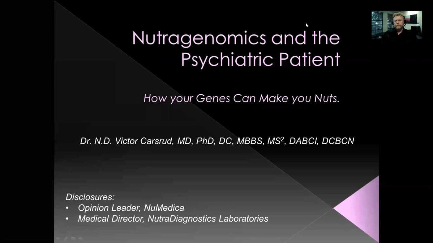 NutriGenomics and Psych