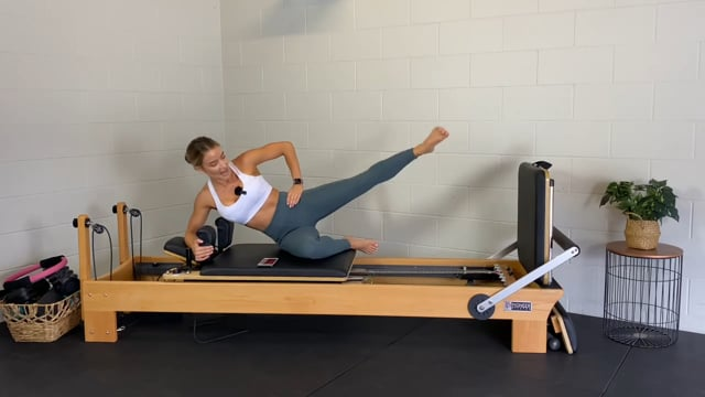 20min jump board reformer cardio