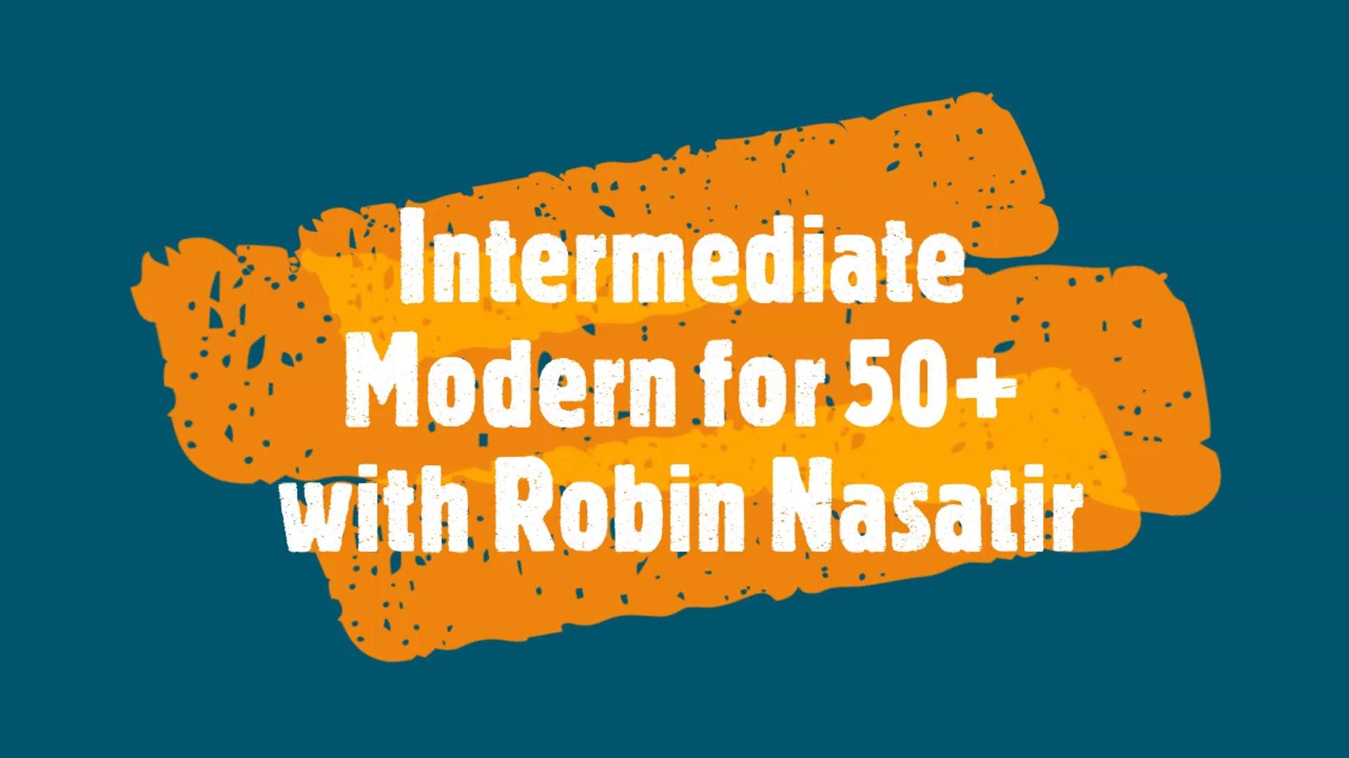 November  2020 Intermediate Modern Dance for 50+