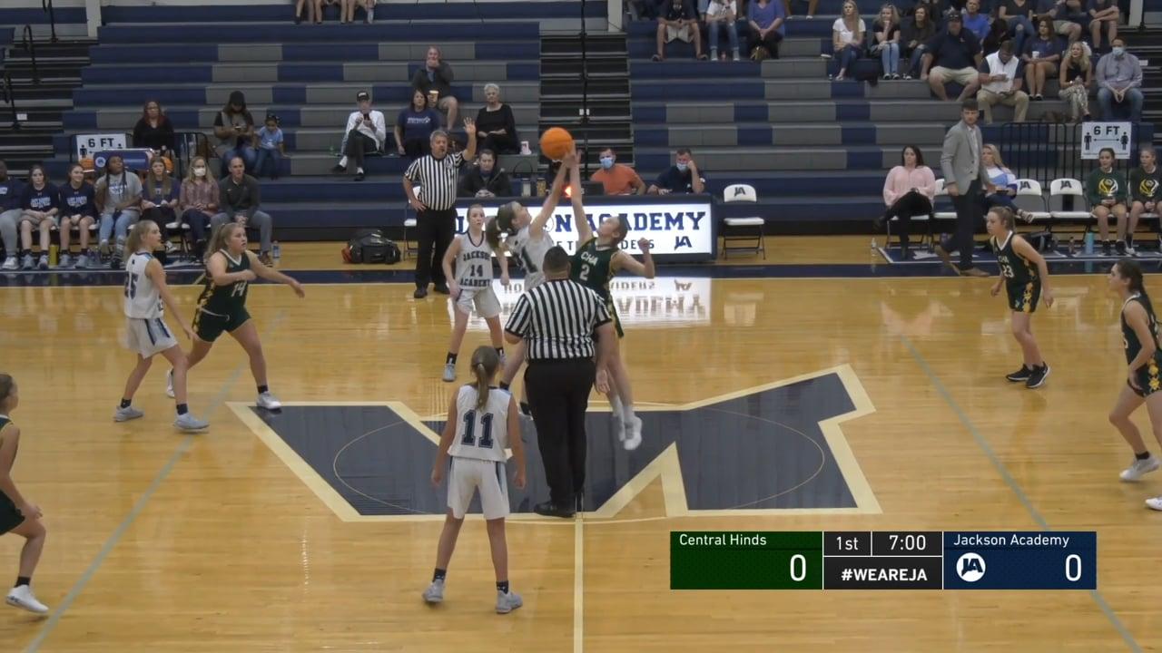 JV Girls Basketball vs Central Hinds - 11-07-20