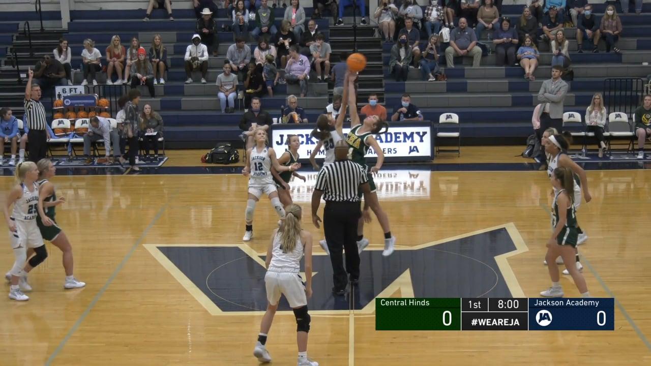 Varsity Girls Basketball vs Central Hinds - 11-07-20