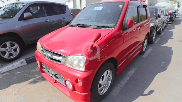 DAIHATSU TERIOS 2003 RED...