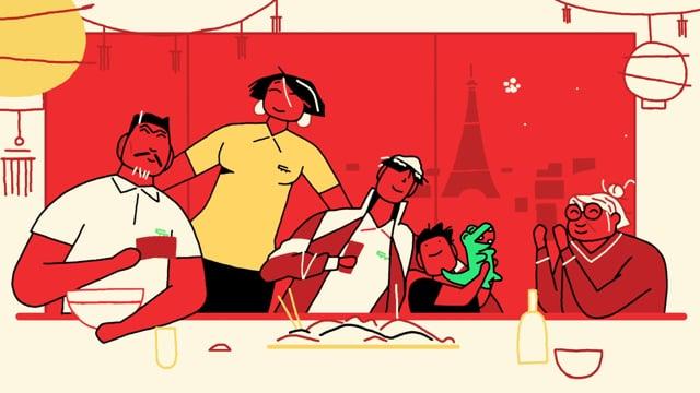 Lacoste, pour le nouvel an chinois 2019