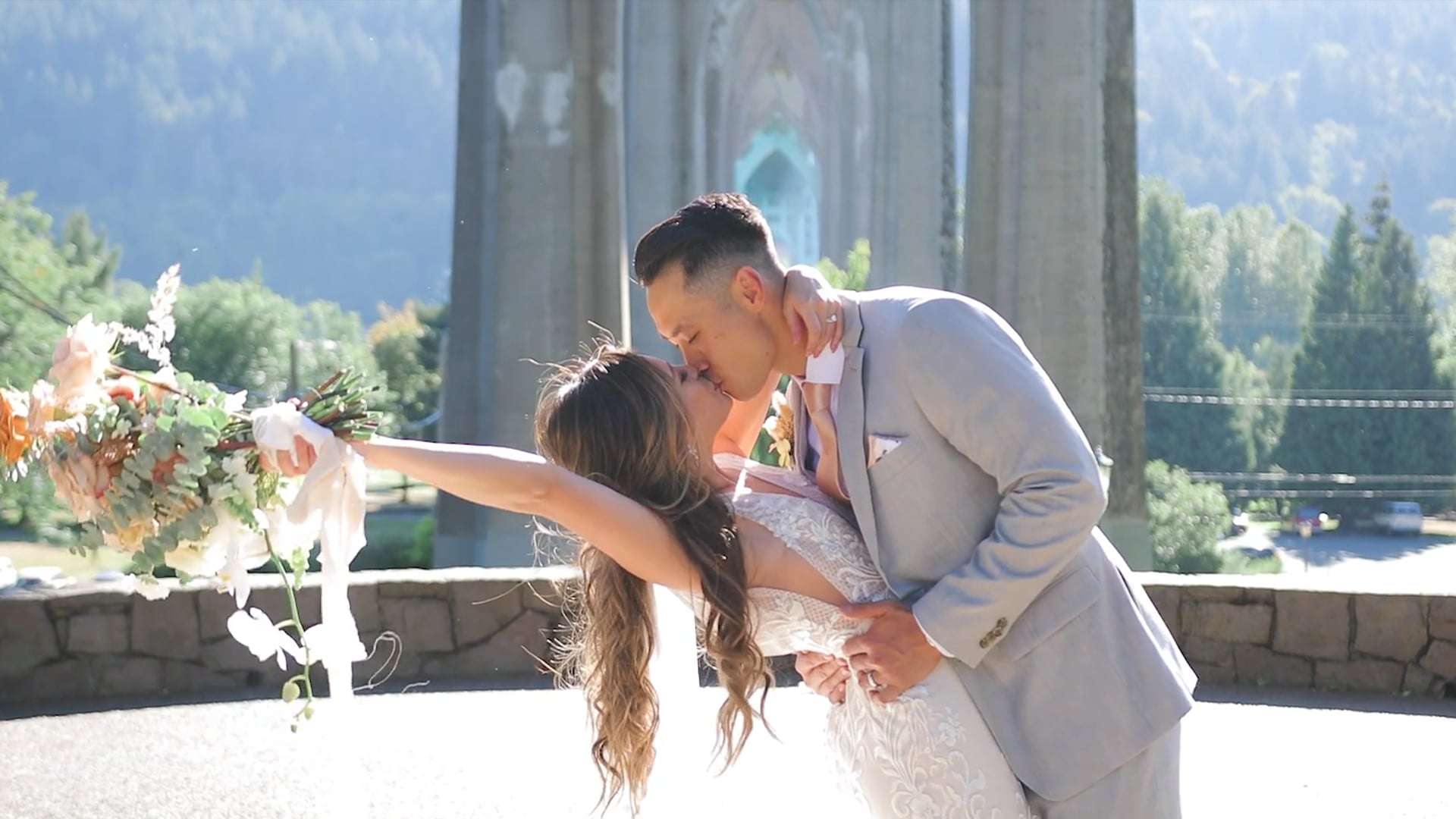 Diana & Tim | Abiqua Falls, Oregon