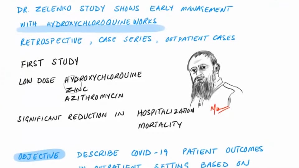 Latest Study Early Management with HCQ - Dr. Zelenko