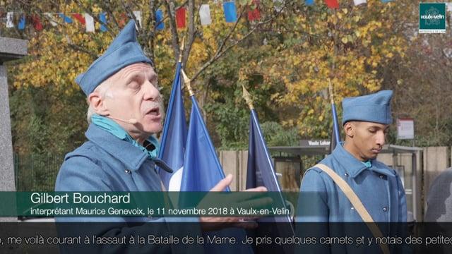 Histoire de Maurice Genevoix – Commémoration de l'armistice de la Première Guerre mondiale – 11 novembre 2020