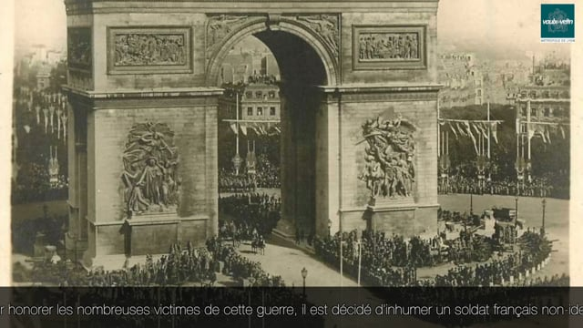 Histoire du soldat inconnu – commémoration de l'armistice de la Première Guerre mondiale – 11 novembre 2020