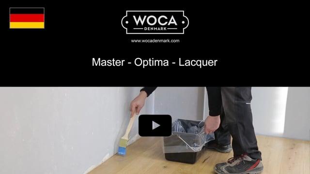 Master Optima Lacquer DE