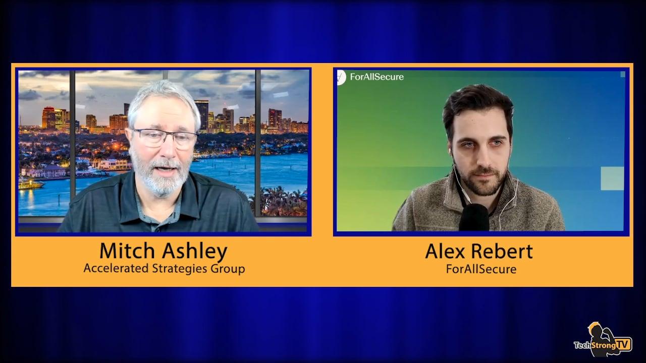 Alex Rebert – TechStrong TV