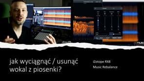 Jak usunąć lub wyodrębnić wokal z piosenki z RX8?