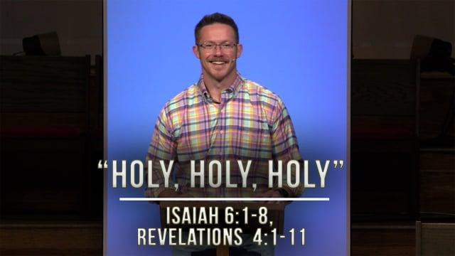November 13, 2020 | Stories of Hope: Holy, Holy, Holy, | Isaiah 6:1-8, Revelations 4:1-11