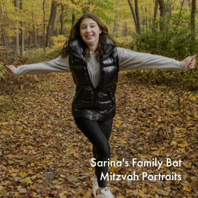 Sarina's Family Bat Mitzvah Portraits.mp4
