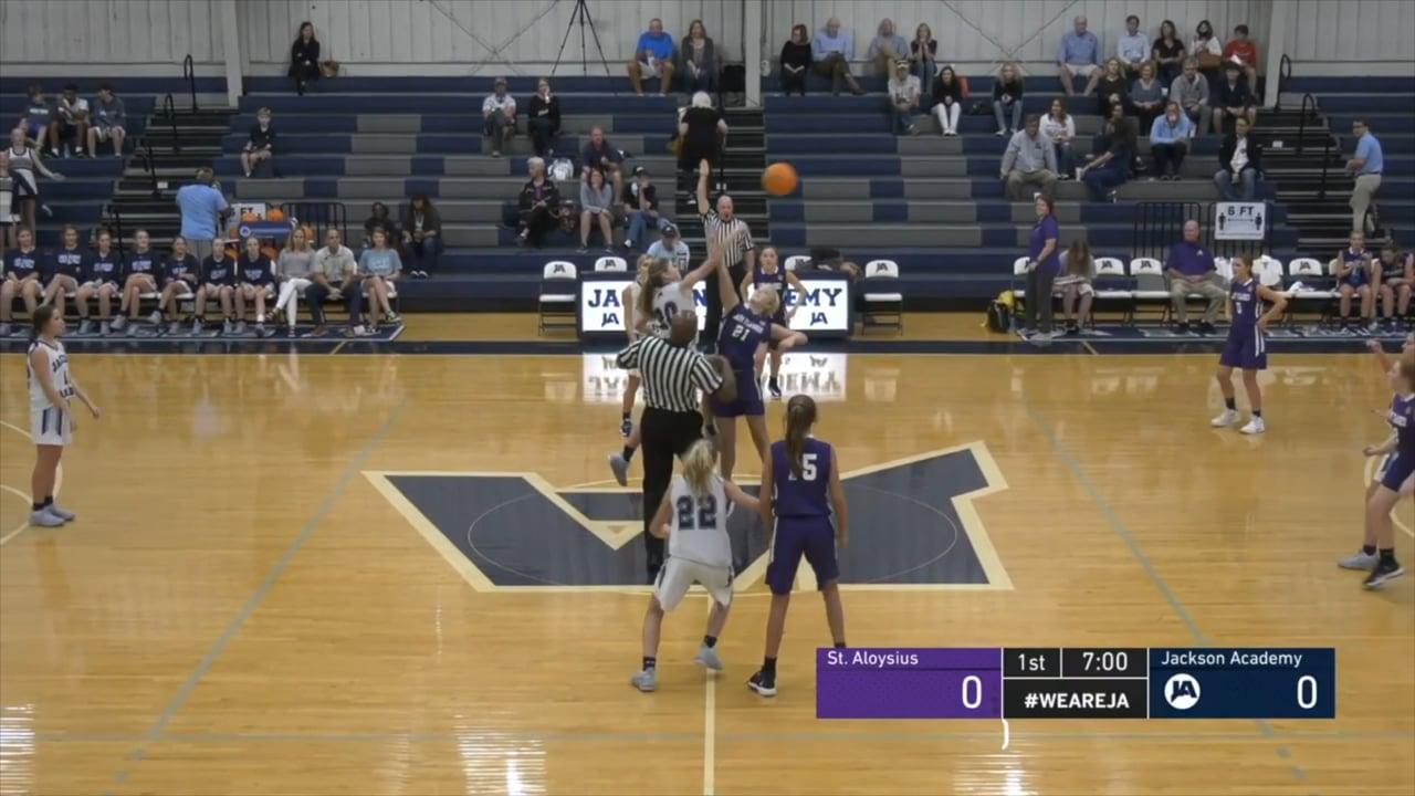 JV Girls Basketball vs St. Aloysius - 11-09-20