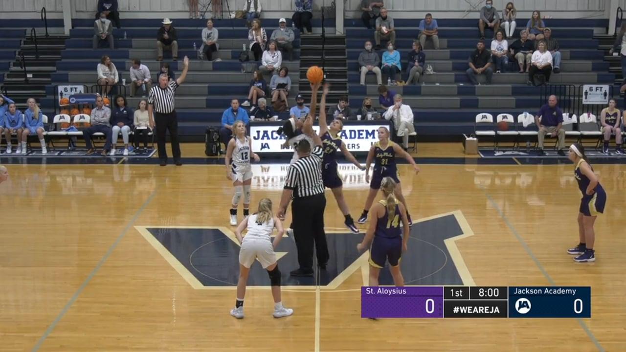 Varsity Girls Basketball vs St. Aloysius - 11-09-20