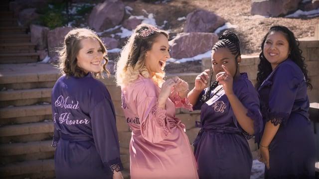 Melissa + Ashton Wedding Highlights - Woodland Park CO - Nov 2020