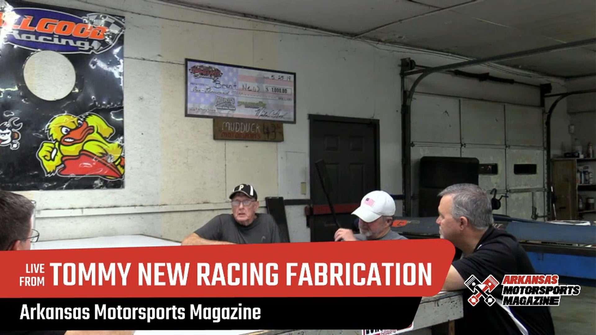 TUESDAY NIGHT TUNE UP - S1 E5 - Russellville Arkansas at Tommy New Racing Fabrication