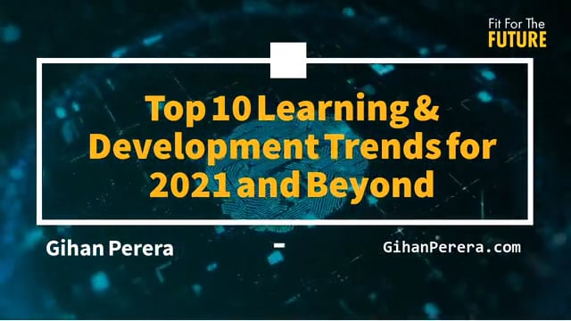 Top 10 Learning & Development Trends